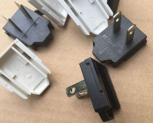 Amazon.com: ShineBear 2PCS/lot APD US Plug Switch Connector Adapter for APD Power Supply US EU Plug Available - (Cable Length US Plug): Computers & Accessories