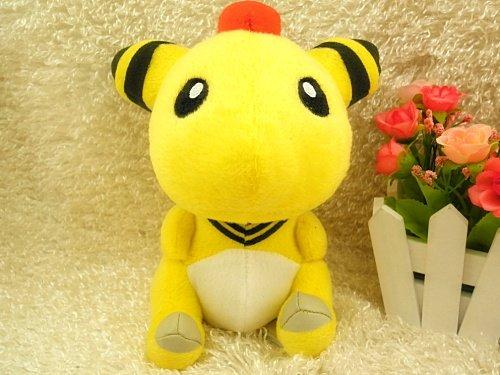 """New Pokemon Ampharos 5.9"""" Anime Animal Stuffed Plush Toys"""