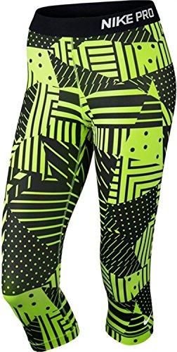 Nike Womens Pro Patch Werk pantys, Volt