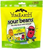 YumEarth Natural Sour Jelly Beans, 5 Count, Net Wt. 3.5 Oz ( Packaging May Vary )