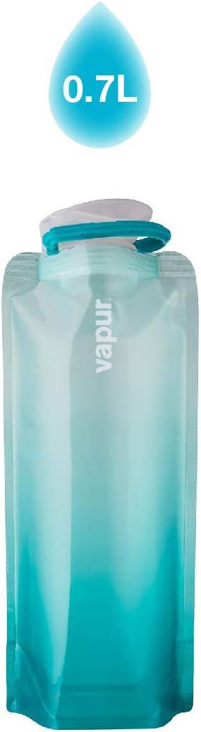 with Clip Vapur Gradient Flexible Water Bottle
