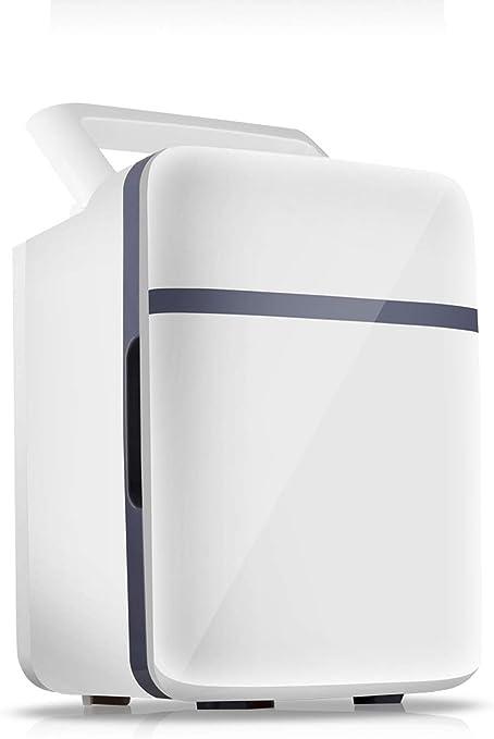 Mini Refrigerador Para Habitaciones Compartidas, Ahorro de Energía, Bajo Nivel de Ruido, Caja de Enfriamiento de Gran Capacidad, Apto Para Interiores, Automóviles, Oficinas 10L Enfriamiento de bebidas: Amazon.es: Hogar
