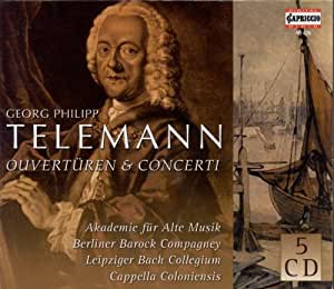 Telemann G.P.: Overtures / Co