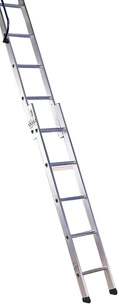 Lyte 'Deluxe Easiloft' 2 Section Loft Ladder Lyte Industries (Wales) Ltd DLEL2