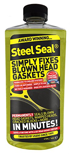 (Steel Seal Blown Head Gasket Fix Repair Sealer - 4 Cylinder)