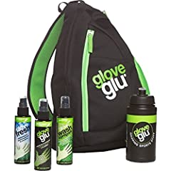 Great gift for a Goalkeeper. The main compartment has pockets to store the mini glove care bottles. Carry your soccer ball, gloves, and a towel in the bag as well. The external zip pocket is perfect for storing valuables.