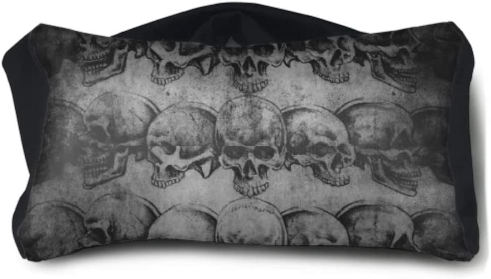 Amazon Com Libilingoo Fancy Eye Mask Tattoo Art Skulls Over Old
