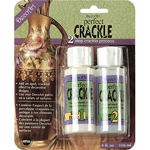 DecoArt DAPK88 Perfect Crackle, 2-Ounce, Perfect Crackle, Carded from DecoArt