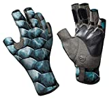 Buff Pro Series Angler Gloves II Tarpon Scales S/M