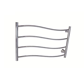 FANGYAO Montado en la pared de acero inoxidable eléctrico toallero / radiador Baño / Calentador de toallas 9026: Amazon.es: Hogar