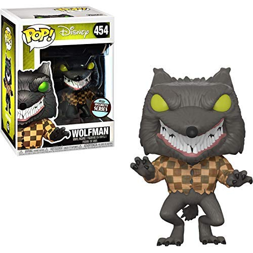 Funko Wolfman (Specialty Series): The Nightmare Before Christmas x POP! Disney Vinyl Figure + 1 Classic Disney Trading Card Bundle [#454 / 32842] -
