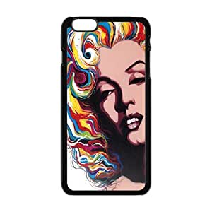Happy Marilyn colour Case Cover For iPhone 6 Plus Case