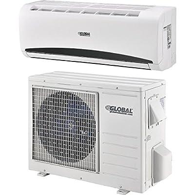 Ductless Air Conditioner, 9,000 Btu, Seer 21