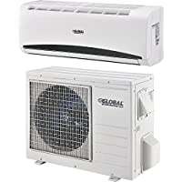 Ductless Air Conditioner, 9,000 BTU, SEER 21