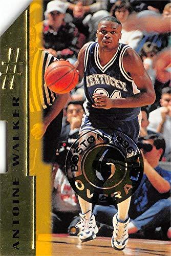 Antoine Walker basketball card (Kentucky Wildcats) 1996 Score Board Die Cut Rookie #6