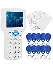 RFID Tarjeta de identificación de múltiples frecuencias, Kit de lector de máquina de copia de control de acceso para mayoría de cifrado de tarjetas