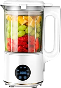 Vacuum Blender, Professional Countertop Blender Ice Crusher, 30000RMP High Speed Kitchen Smoothie Maker with LED Screen & Timer, Dishwasher Cups