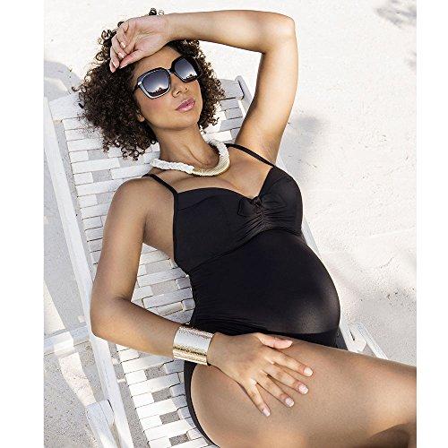 Bagno Donna Costume black Coeur Cache Da Monaco Nero v0XFXqIW