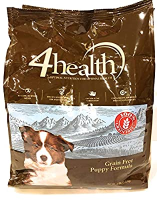 4health Tractor Supply Company Grain Free Puppy Formula Dog Food, Dry, 4 lb. Bag by Tractor Supply Company