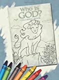 Who Is God? Coloring Book