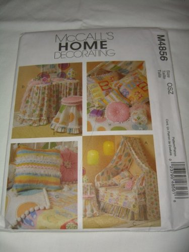 UNCUT & OOP McCALL'S HOME DECORATING M4856