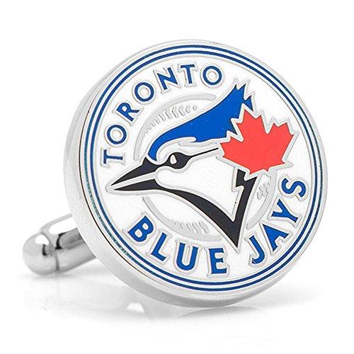 Toronto Blue Jays Cufflinks Novelty 1 x (Toronto Blue Jays Cufflinks)