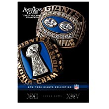 NFL: America's Game: New York Giants (2007)