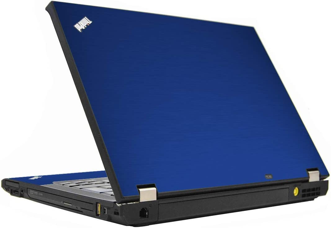LidStyles Vinyl Protection Skin Kit Decal Sticker Compatible with Lenovo Thinkpad T410S (MTS Blue)