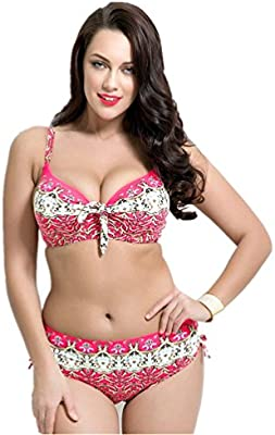 ca590ea3d1 MONICAR Womens Sexy Slimming Plus Size High Waisted Underwired ...