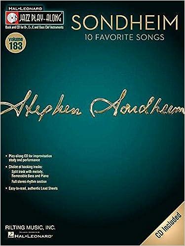 sondheim jazz play along volume 183