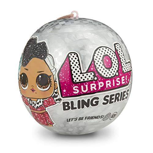 L.O.L. Surprise! Bling Series with 7 Surprises, - Baby Made Usa Doll