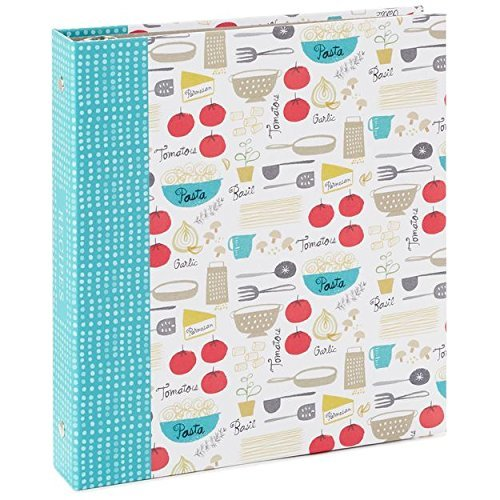 Hallmark Comfort Foods Recipe Organizer Book by HMK