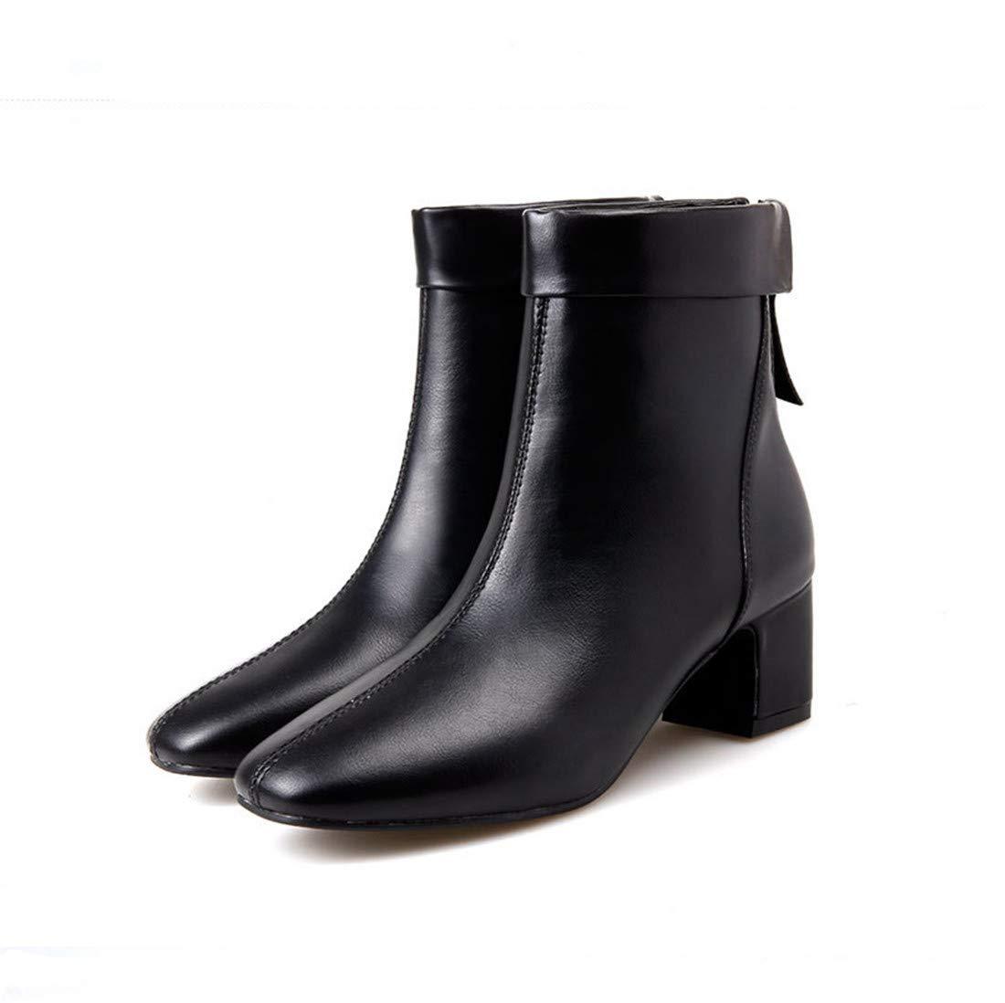 Sandalette-DEDE Bottes de européenne Court et américaine à Court européenne des Bottes, de Bottes, de Bottes, Chaussures, Bottes Mode 38 black 6ad402