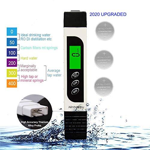 【2020 Upgraded】TDS Meter Digital