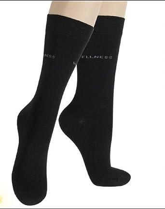 3 Pack mujer Wellness – Micro de modal de calcetines negro 39 ...