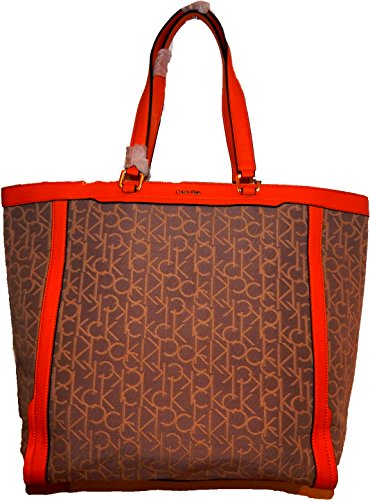 Calvin Klein , Cabas pour femme orange Granit (542)