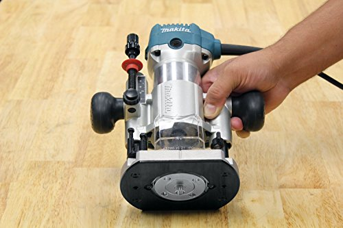Makita - 1-1/4 HP Compact Router Kit with 3 Bases - - Buy