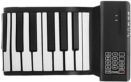 Pianos y teclados Laminado A Mano 88 Tecla Plegable Cargo ...