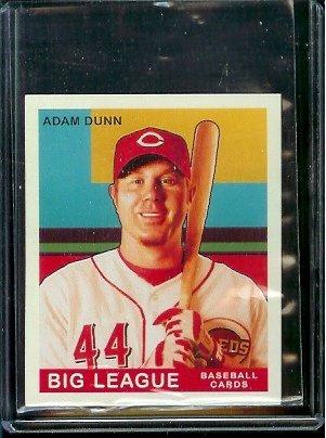 2007 Upper Deck Goudey Baseball Red Back # 4 Adam Dunn - Reds - MLB Trading Card