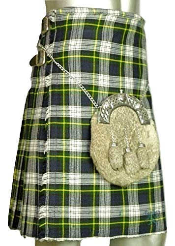 Gordon Dress Tartan Kilt (Waist at Navel 52)