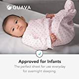 Guava Family - Lotus Crib 100% Cotton Fitted Sheet