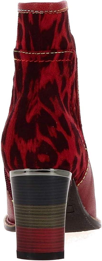 Laura Vita Geceko 01, Botines para Mujer Rojo Rouge Rouge DwqX1