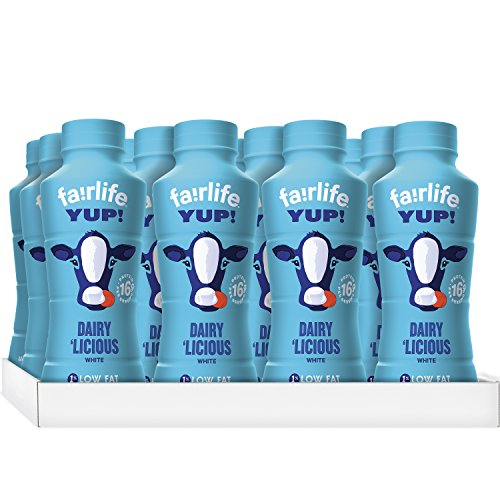 fairlife YUP! 1% Low Fat Ultra-Filtered Milk, Dairy Licious, 14 fl oz,...