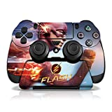 Controller Gear The Flash Ekectruc Blue - PS4 Skin Set for Controller and Controller Stand - Multi-Color