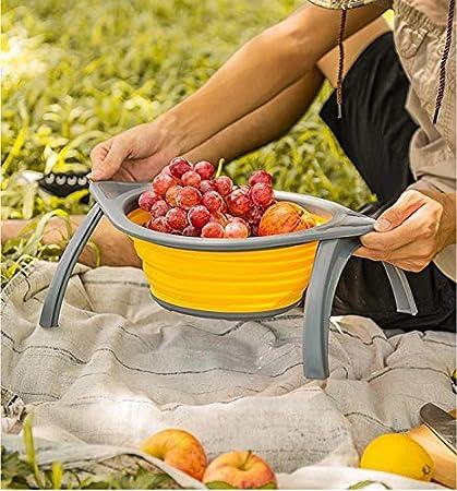 TiooDre Panier Pliable 1pc Pliable Cuisine Passoire Fruits l/égumes Passoire /égouttoir Panier en Plastique Lavage Panier de vidange