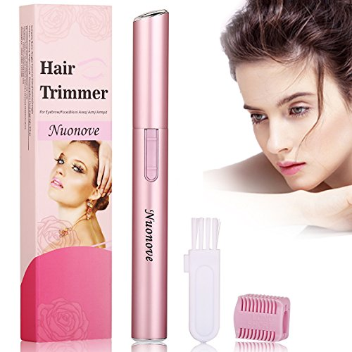 Eyebrow Trimmers Eyebrow Trimmer for Women, Facial Hair Trimmer For Women, Electric Eyebrow Trimmer, Women Facial Hair Trimmer Electric Eyebrow Shaper, Electric Eyebrow Trimmer Bikini Trimmer (Pink)