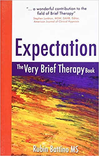 Amazon com: Expectation: The Very Brief Therapy Book (9781845900281
