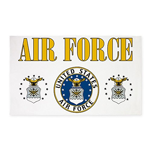 2' x 3' Area Rug Door Mat United States Air Force Military Seal