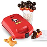 Mickey Mouse Cake Pop Maker w/Non-Stick Baking Plates For Easy Clean-Up