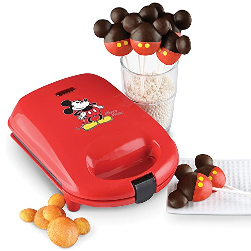 Mickey Mouse Cake Pop Maker w/Non-Stick Baking Plates For Easy Clean-Up by Select Brands